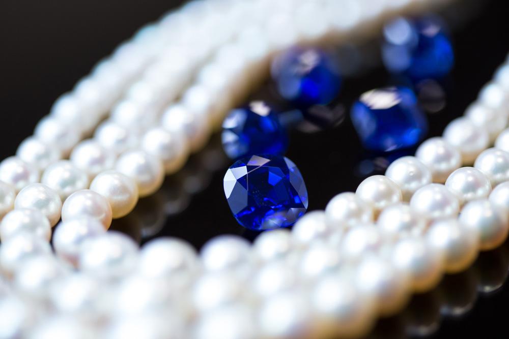 Perlencollier von Horovitz & Totah.