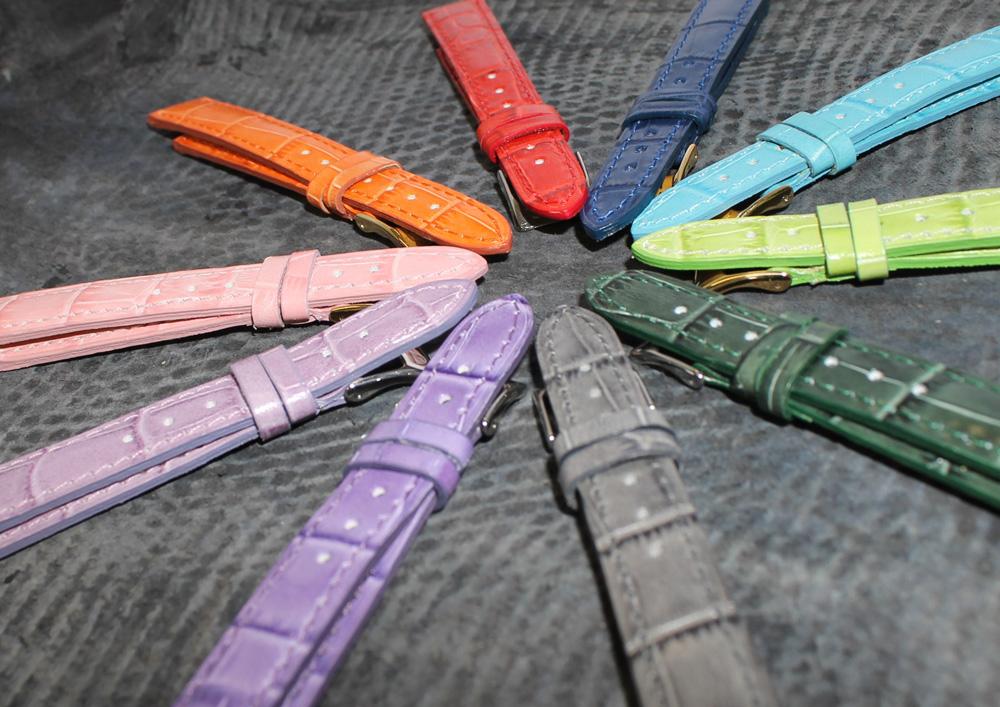 Uhrbänder in allen Materialien, Grössen, Formen und Farben von Hug Uhrband AG.