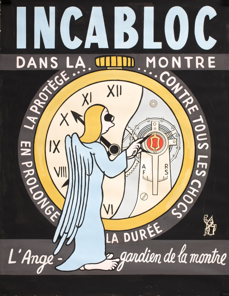 Incabloc 1940, collection MIH