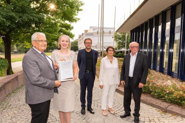 Der Ernst Alexander-Wellendorff-Gedächtnispreis ist an Lena Stahl verliehen worden.